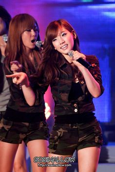 SNSD Taeyeon Military Look