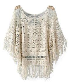 Love this crochet #top