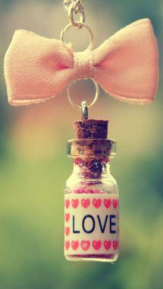 Heart In A Bottle iPhone