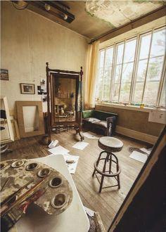 Andrew Wyeths studio