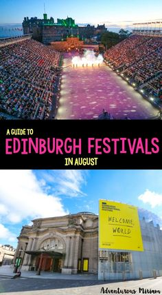 For many years, artists, performers, musicians and dancers have flocked to Edinburgh in July and August to be part of the 8 summer festivals. These festivals are so huge and popular that Edinburgh is now known as the world's leading festival city. Here's a guide to five of Edinburgh's largest festivals.