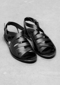 Flat Multi-Strap Sandal   Flat Multi-Strap Sandal   & Other Stories