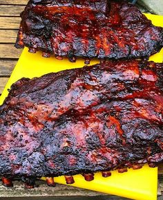 These are sme glorious spare ribs Pic and ribs courtesy of @barbacoa_bbq…