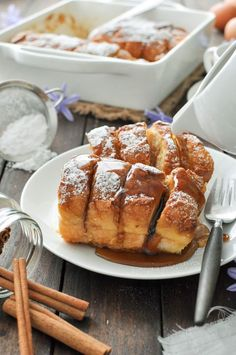 A baked french toast with plenty of crunchy brown bits that is soft and custardy on the inside (not soggy!). Made with baguettes (french stick), it fans out like hasselback potatoes, creating perfect crevices to... Read More »