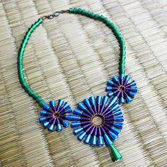 Brillante collar pavo real  primer regalo de aniversario para