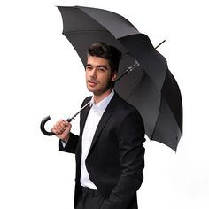 Doppler Long Carbonsteel - luxusní pánský holový deštník se vzorem Bugatti, Umbrellas, Fashion, Moda, Fashion Styles, Fasion