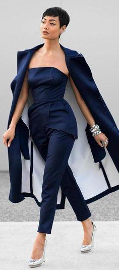 Monday Blues / Fashion by Micah Gianneli