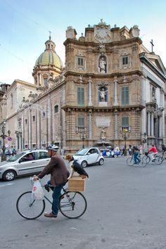 Traffic in Palermo! :) Palermo is Sicily's cultural, economic and touristic capital. #tpalermo #sicily #sicilia
