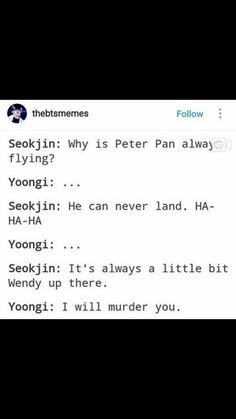 Sometimes I'm Jin, sometimes I'm Yoongi... there is no inbetween (except for the times I'm Namjoon, Hobi, Tae, Jimin and Jungkook ofc) (and at times Hfsa XD)