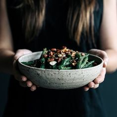 Gather & Feast: Green Beans with Almonds