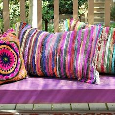 Mark Montano:DIY No Sew Rag Rug Pillows #diyragrugpillow #diyragrugnosew