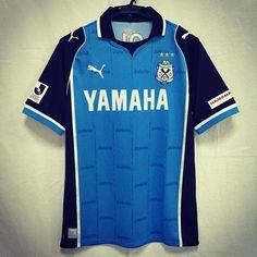 2013 Jubilo Iwata Jersey Home  #jubilo #jubiloiwata #soccerjersey #soccershirt #footballjersey #footballshirt #jleague #yamaha #puma by japansoccerjersey