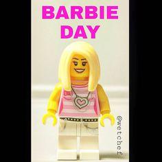 Barbie Day. #barbieday #barbie #doll #mattel #lego #barbiedoll #toy #ken #dreamhouse #fashion #style #popular  #girl #woman #bricknetwork #brickmania #toyslagram_lego #toydiscovery #brickcentral #lego_hub #toptoyphotos #toyslagram @bricknetwork @toyslagram_lego @toyslagram @toydiscovery by wetchef