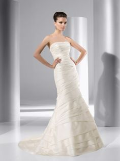 Demetrios length attach, wedding dressses, galleri, weddings, brides, dresses, demetrio 3142, wedding dress styles, floor length
