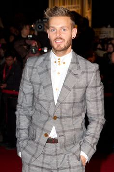 Fabulously Spotted: Matt Pokora Wearing Vivienne Westwood MAN   NRJ Music Awards 2013