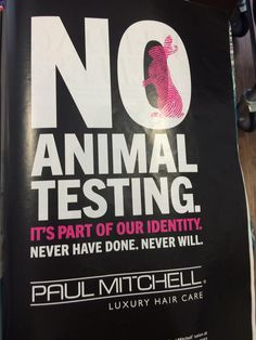 Beauty Without Cruelty, Luxury Hair, Paul Mitchell, Animal Testing, Hair Care, Hair Care Tips, Hair Makeup, Hair Treatments