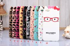 Hello Kitty Bow TPU Case Cover for iphone6 4.7 inch / iphone6 plus 5.5 inch
