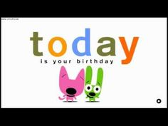 Hoops & Yoyo - Your birthday is today-oh