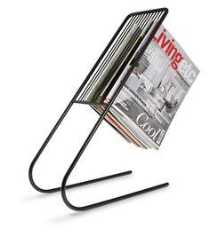 j-me original design Float Magazine Rack, white: Amazon.co.uk: Kitchen & Home