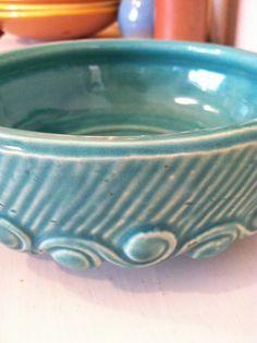 Mc Coy 1930's Pottery Bulb Bowl