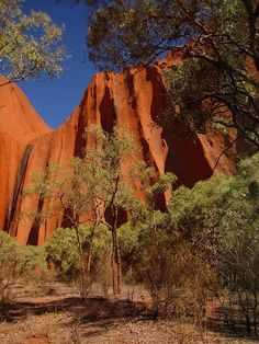Uluru - been there, did the walk all around the base.