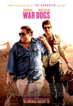 WAR DOGS   http://www.themoviewaffler.com/2016/08/new-release-review-war-dogs.html