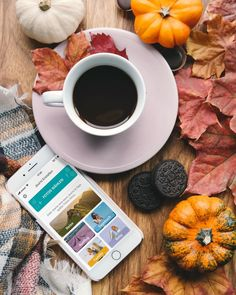 """Journi on Instagram: """"Cup of coffee, some Cookies and a new Journi - no better way to survive a Monday ☕Who agrees? 😜  #lifeisajourni #journi #books #ap #pumpkin…"""" Coffee Cups, Survival, Pumpkin, Cookies, Chocolate, Desserts, Instagram, Food, Crack Crackers"""