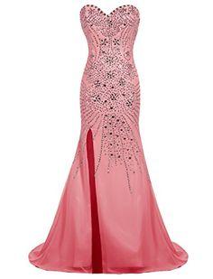 Dresstells® Long Chiffon Sweetheart Prom Dress with Beading Split Front Wedding Dress Maxi Dress Dresstells http://www.amazon.co.uk/dp/B019H17JQ0/ref=cm_sw_r_pi_dp_q-mbxb0BAHVZ8
