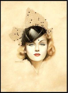 Carole Lombard, 1936 (Charles Gates Sheldon)