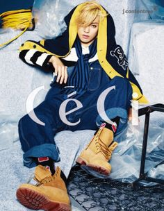 M.I.B Kangnam - Ceci Magazine November Issue '14