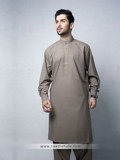 Cinereous #embroidered #kurta #shalwar suit for men in #cotton silk fabric http://www.needlehole.com/cinereous-embroidered-kurta-shalwar-suit.html #Aijaz aslam #kurta #shalwar suits and #salwar #kameez uk. Latest pakistani #shalwar #kameez designs, #salwar suit and kurta shalwaar for men by aijaz aslam mens stores uk