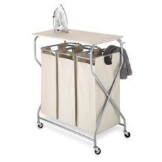Whitmor Triple Laundry Cart