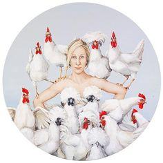Joanna Braithwaite: Chook, chook, chook :: Archibald Prize 2008 :: Art Gallery NSW