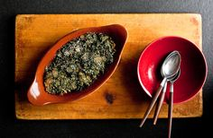 Provencal spinach gratin. Sounds delicious and healthy!