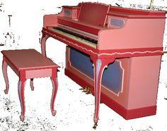 princess piano girl's room furniture