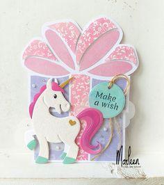 byMarleen: Make a wish Gold Glitter Paper, Marianne Design Cards, Make A Wish, How To Make, Elizabeth Craft, Paper Crafts, Diy Crafts, Aqua Color, Clear Stamps