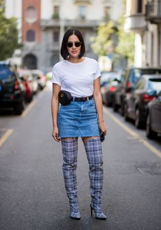 Stylecaster   25 Checkered Fashions That Will Make You Mad For Plaid   Getty