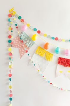 fun and festive bunting for parties!