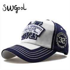 14.92$  Buy now - http://viuyh.justgood.pw/vig/item.php?t=b3jna4854759 - Baseball Cap fashion Snapback hats for men spring letter M hockey Bone caps hats
