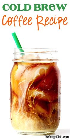 Cold Brew Coffee Recipe - at TheFrugalGirls.com