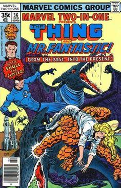 Thing - Mr Fantastic - Dinosaur - Skull The Slayer - Woman - Ernie Chan