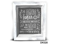 Ajándék Pedagógusoknak | Ajándék Tanároknak | Nevesajándék.hu Chalkboard Quotes, Diy Gifts, Art Quotes, Words, Hand Made Gifts, Horse, Diy Presents
