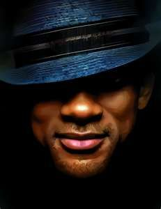 Will Smith - love the hat, love the shaded eyes, love his cheekbones. :)