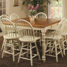 Chelsea Home Brookfield Dining Table - 82WS5436-T-BC