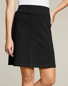 Women's Hanes Signature&reg French Terry Skirt