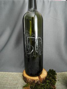 Ručne gravírovaná jubilejná fľaša 50