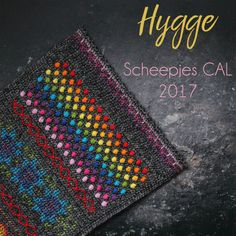 The Scheepjes CAL of 2017 has been announced! Called 'hygge' after the Danish word for cosiness and designed by Kirsten from haakmaarraak.nl, it will be a spectacular warm shawl. During this CAL you will learn multiple techniques to decorate crochet. Textured crochet stitches, cross stitch and surface crochet are all combined to make this beautiful project.