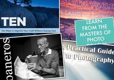 20 Free Photography E-Books: In the web is a lot of files for free, also photographic files. Today I decided to put all the eBooks – that previously published in my blog – together in a single, mega post for you. Go ahead, download them! Print them if you want to.