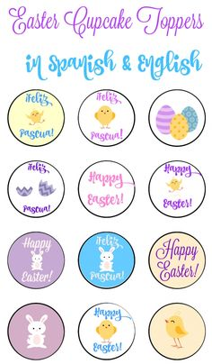 Printables Bilingual Worksheets mommy maestra easter themed freebie bilingual plural words free cupcake activities crafts you re celebrating english perfect to