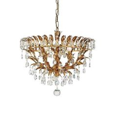 This classicly designed, four lamp, dark gold metal ceiling light is enhanced with hanging Swarovski Elements® crystals. With beautiful detailing, this traditionally made Florentine ceiling light is eye-catching and would make a great addition to any room.